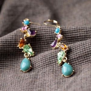 Jewelry - Jeweled Dangle Earrings